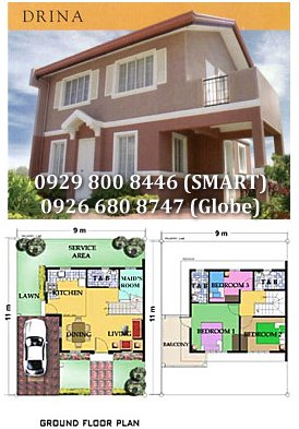 Drina - Crestwood Antipolo House and Lot