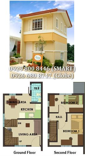 Mariana Downhill - Camella Crestwood Antipolo House and Lot